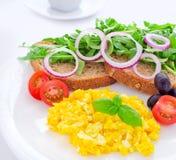 Gezond eiontbijt Royalty-vrije Stock Foto