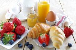 Gezond en aardig ontbijt Stock Foto