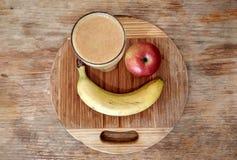 Gezond fruitontbijt Stock Foto's
