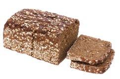 Gezond geïsoleerds brood Stock Afbeeldingen