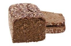 Gezond geïsoleerds brood Stock Afbeelding