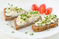 Gezond graanschuurbrood Stock Afbeelding