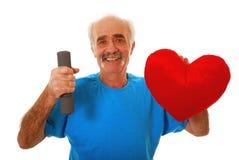 Gezond hart Royalty-vrije Stock Foto