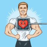 Gezond hart royalty-vrije illustratie
