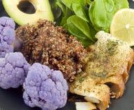 Gezond heet voedsel Royalty-vrije Stock Foto's