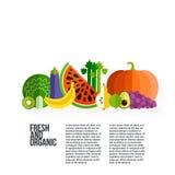 Gezond het Eten Concept vector illustratie