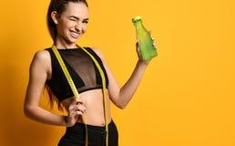 Gezond het levensconcept van het gewichtsverlies stock afbeelding