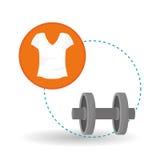 Gezond levensstijlontwerp, geschiktheid en bodybuilding concept Royalty-vrije Stock Foto's
