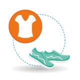 Gezond levensstijlontwerp, geschiktheid en bodybuilding concept Royalty-vrije Stock Afbeeldingen