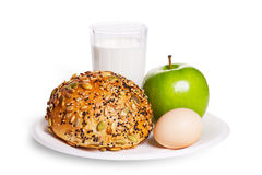 Gezond ontbijt Royalty-vrije Stock Foto's