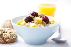 Gezond ontbijt Royalty-vrije Stock Afbeeldingen