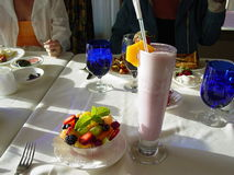 Gezond Ontbijt in de Vallei van de Dood stock foto's