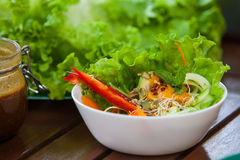 Gezond veganistvoedsel Stock Foto's