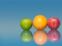 Gezond, vers, kleurrijk fruit Stock Fotografie