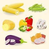 Gezond voedsel vector illustratie