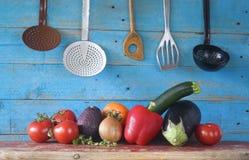 Gezond voedsel, groenten Stock Foto's