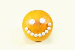 Gezond voedsel Sinaasappel Stock Foto