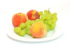 Gezond voedsel. Verse vruchten Royalty-vrije Stock Foto