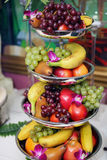 Gezond voedsel, vruchten Stock Foto