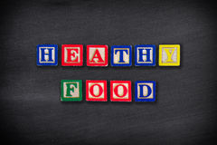 Gezond voedselconcept Royalty-vrije Stock Fotografie