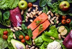 Gezond voedselconcept royalty-vrije stock foto
