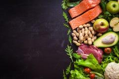 Gezond voedselconcept Stock Foto's