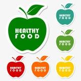 Gezond voedselontwerp royalty-vrije illustratie