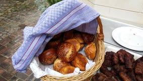 Gezonde broodbroodjes met zaden Royalty-vrije Stock Fotografie