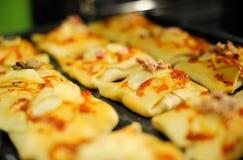 Gezonde broodjes in huisoven Royalty-vrije Stock Afbeelding