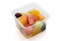 Gezonde container fruit Stock Afbeelding
