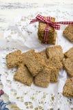 Gezonde crackers royalty-vrije stock afbeelding