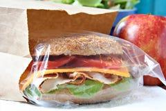 Gezonde eigengemaakte lunch. Royalty-vrije Stock Fotografie