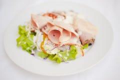 Gezonde groentensalade Stock Foto's