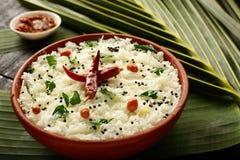 Gezonde Heerlijke gestremde melkrijst van Indische keuken, royalty-vrije stock afbeeldingen