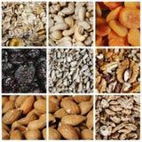 Gezonde het Eten Inzameling stock afbeeldingen