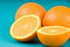 Gezonde het leven dieetsinaasappelen Stock Afbeeldingen