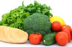 Gezonde kersentomaat, kruiden friut en groenten royalty-vrije stock afbeeldingen