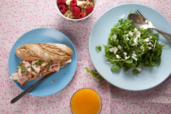 Gezonde lunch Royalty-vrije Stock Afbeelding