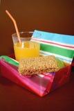 Gezonde lunchbox Stock Afbeeldingen