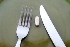 Gezonde maaltijd Stock Foto