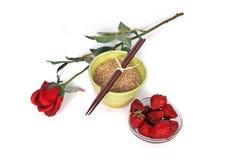Gezonde Natuurvoeding stock foto