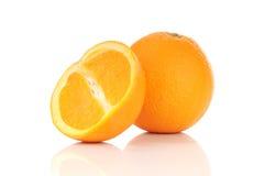 Gezonde oranje vruchten Stock Afbeeldingen