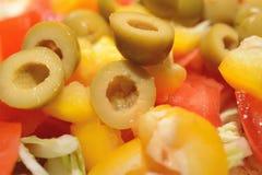 Gezonde Salade Stock Afbeeldingen