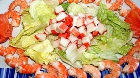 Gezonde salade Stock Afbeelding