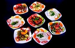 Gezonde salade apeetizer stock afbeelding