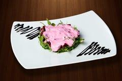Gezonde salade met biet Stock Foto's