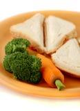 Gezonde sandwich royalty-vrije stock foto's