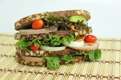 gezonde Sandwiches Royalty-vrije Stock Foto's