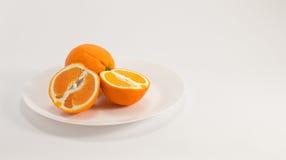 Gezonde sinaasappelen Stock Afbeelding