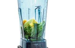 Gezonde smoothie voor gewichtsverlies Ingrediënten voor gezonde vlot royalty-vrije stock afbeelding